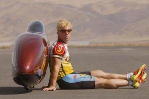 Canadian Sam Whittingham Shatters Speed Record