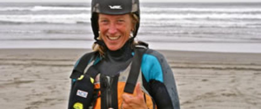Margo Pellegrino paddles Seattle to San Diego