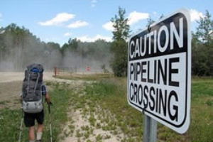 Frank Wolf voyages the Enbridge pipeline
