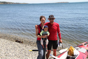 Completion of Vancouver Island Circumnavigation Speed Quest by Colin Angus