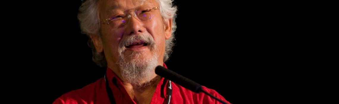 David Suzuki Telling It Like It Is