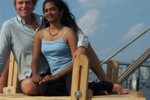 Reid Stowe and Soanya Ahmad – 1000 Days in a Boat