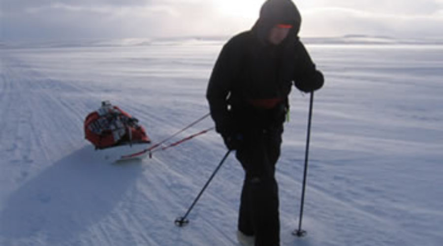 Karl Bushby – Walking Around the World in Goliath Expedition