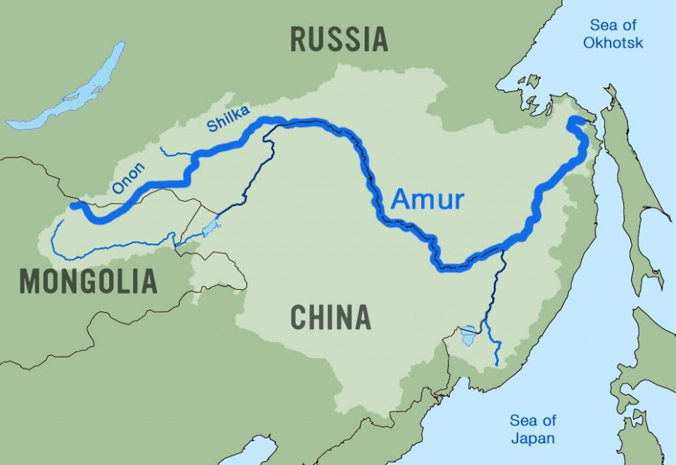 Amur River Map Nobody's River – Paddling Siberia's Amur River – Angus Adventures
