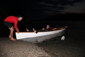 Start of the Yukon River Row