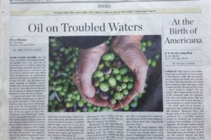 "Wall Street Journal Gives ""Olive Odyssey"" Thumbs Up"
