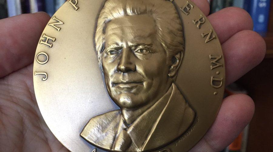 Julie Receives John P McGovern Award